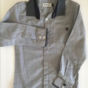 🎉 3/$25 JEAN BOURGET Kids Long Sleeve Shirt Sz 2